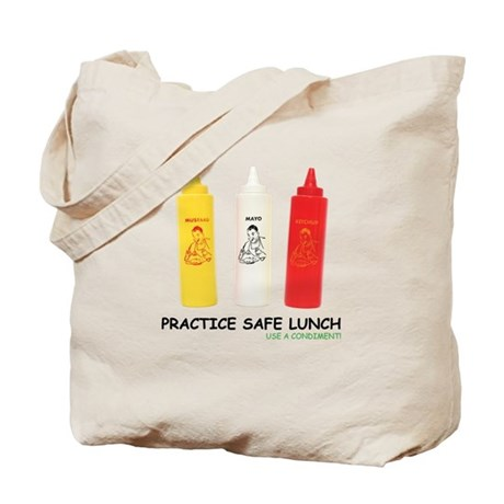 Safe Lunch Tote Bag