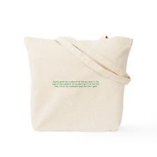 Safe Lunch Tote Bag