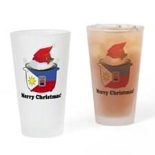 Pinoy Rice Cooker - Christmas Drinking Glass