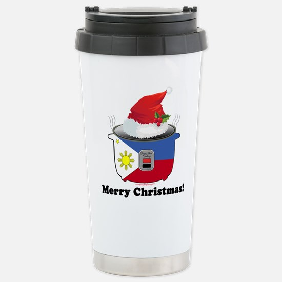 Pinoy Rice Cooker - Stainless Steel Travel Mug