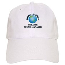 World's Happiest Theater Sound Manager Baseball Cap