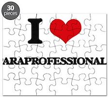 I Love Paraprofessionals Puzzle