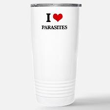 I Love Parasites Stainless Steel Travel Mug