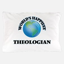 World's Happiest Theologian Pillow Case