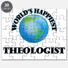 World's Happiest Theologist Puzzle