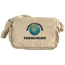 World's Happiest Theologist Messenger Bag