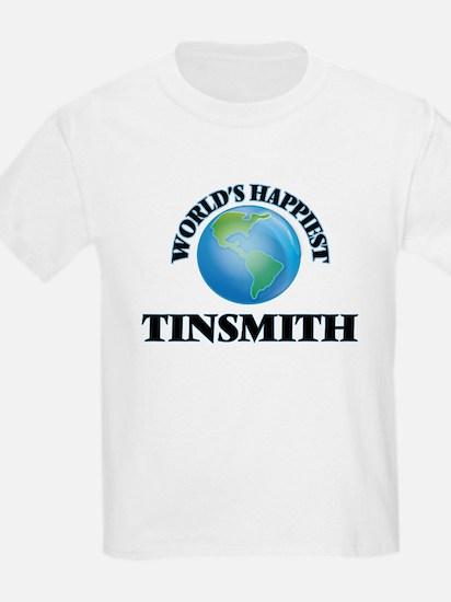 World's Happiest Tinsmith T-Shirt