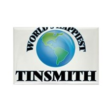 World's Happiest Tinsmith Magnets