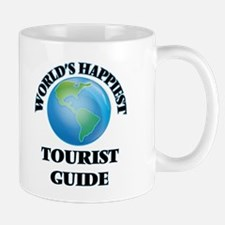 World's Happiest Tourist Guide Mugs