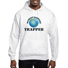 World's Happiest Trapper Hoodie