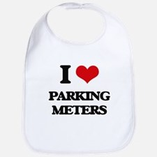 I Love Parking Meters Bib