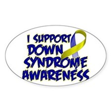 Cute Down syndrome Decal