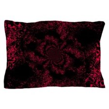 Red Fire Dragonfly Pillow Case