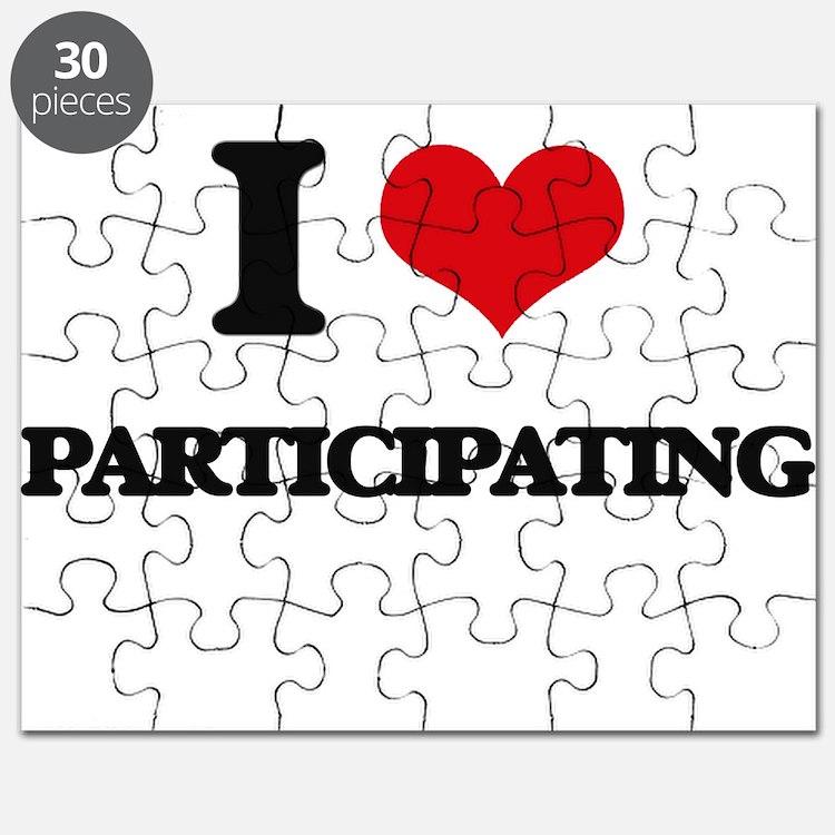 I Love Participating Puzzle