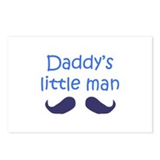 DADDYS LITTLE MAN Postcards (Package of 8)