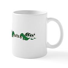 ORNATE LEAVES BORDER Mugs