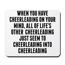 Cheerleading On Your Mind Mousepad