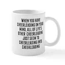 Cheerleading On Your Mind Mugs