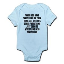 Wrestling On Your Mind Body Suit