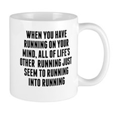 Running On Your Mind Mugs