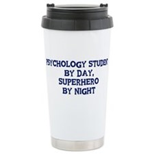 Cute Psychology student job Travel Mug