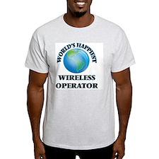 World's Happiest Wireless Operator T-Shirt