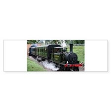 Steam Train Bumper Bumper Sticker