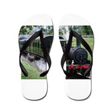 Steam Train Flip Flops