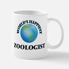 World's Happiest Zoologist Mugs