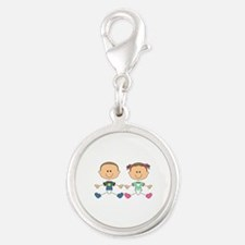 STICK FRATERNAL TWINS Charms
