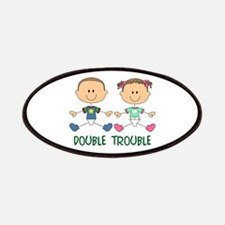 TWINS DOUBLE TROUBLE Patches