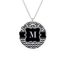 Personalised Letter M on Shower Curtain Necklace