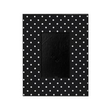 Black and White Polka Dot Picture Frame
