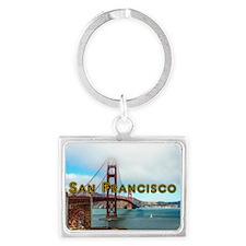 San Francisco Landscape Keychain