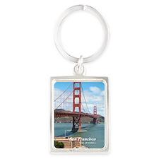 San Francisco Portrait Keychain