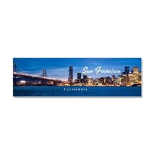 San Francisco Car Magnet 10 x 3