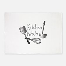 Kitchen Bitch 5'x7'Area Rug