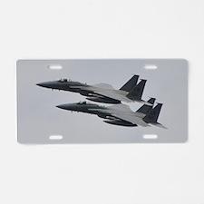 F-15C Eagle Aluminum License Plate