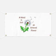 AN UNLOVED FLOWER Banner