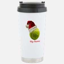 Tennis Santa Travel Mug