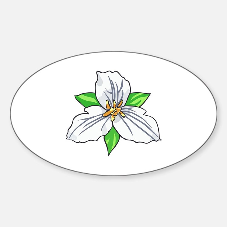 TRILLIUM FLOWER Decal