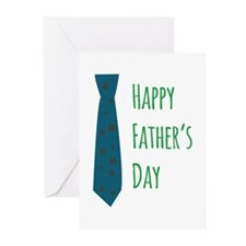 tie_Happy Fathers Day Greeting Cards
