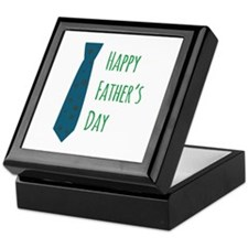 tie_Happy Fathers Day Keepsake Box