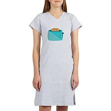 Toaster_base Women's Nightshirt