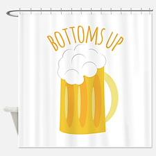 Bottoms Up Shower Curtain