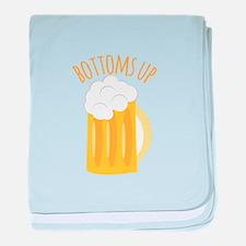 Bottoms Up baby blanket