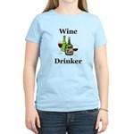 Wine Drinker Women's Light T-Shirt