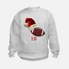 Football Santa Sweatshirt
