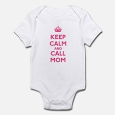 Keep Calm and Call Mom Infant Bodysuit