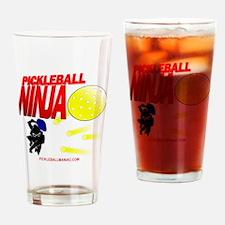 Pickleball Ninja Drinking Glass